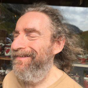 Jean-Philippe au col de la Colombière, août 2017