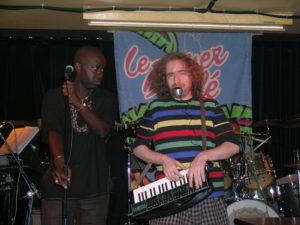 Sur scène au Baiser Salé en 2008