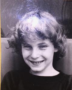 Jean-Philippe à 10 ans (photo Rykiel)