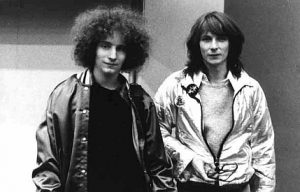 Jean-Philippe et Tim Blake en 1978 (DR)