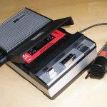 Premier magnéto-cassettes Philips (cc mib18)