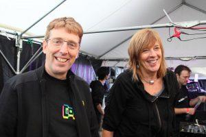 Steve Hillage et Miquette Giraudy, 2010 (cc MIXTRIBE)