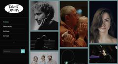 Accueil site web Taktic Music
