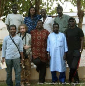 IreneTassembedo et Xalam à Ouagadougou