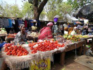 Marché de Sikasso au Mali, 2008 (cc C.Hugues)