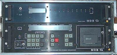 Façade avant du rack polyséquenceur MDB