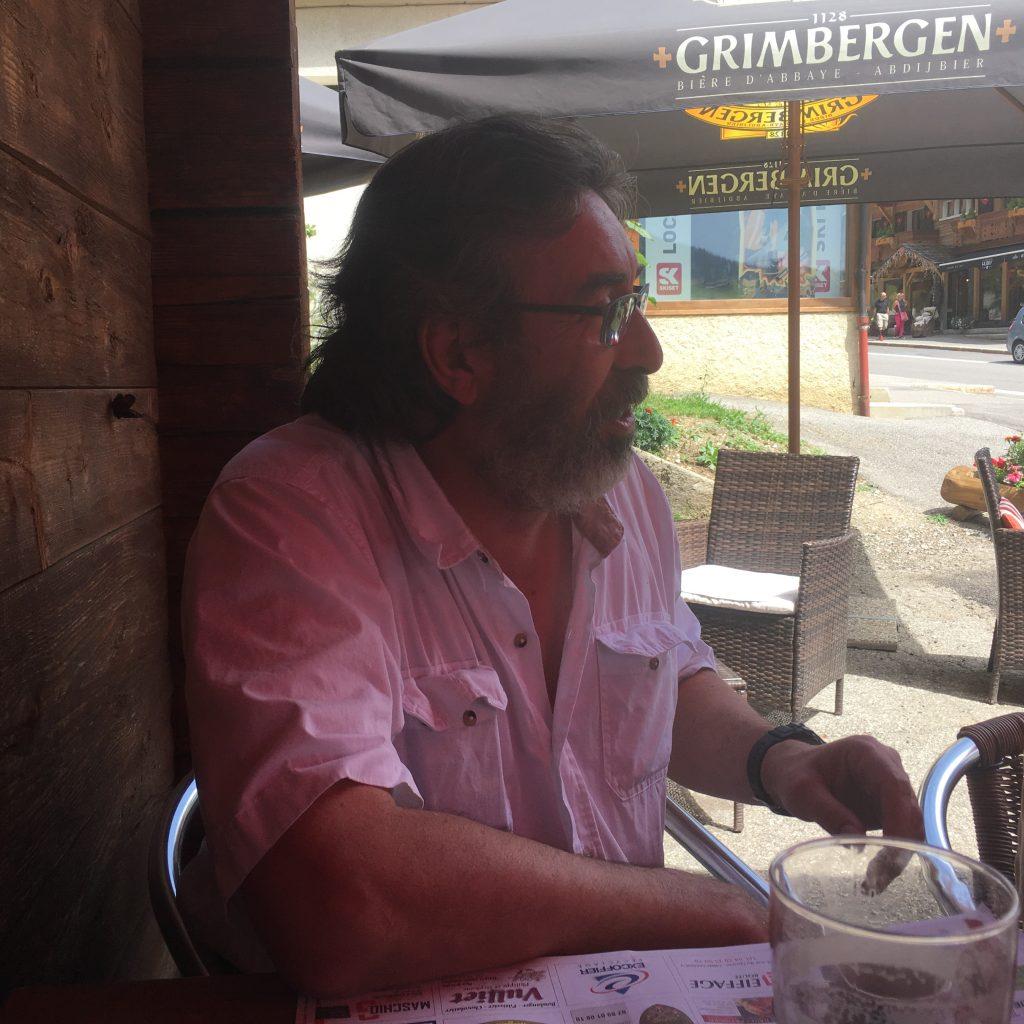 Thierry Guillemin au Grand Bornand, août 2017 (cc G.Athanase)