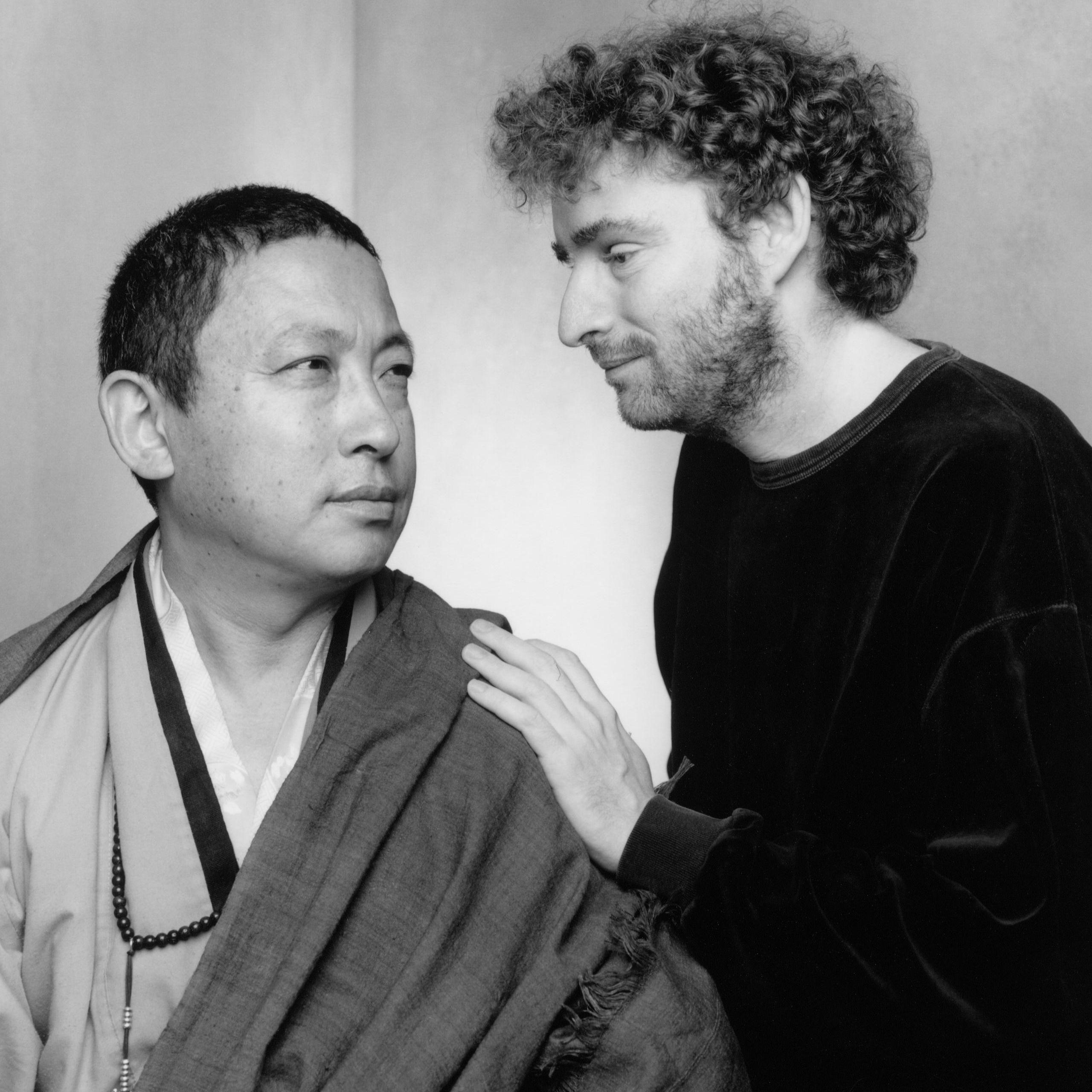 Avec_Lama Gyurme 1997 (Photo Sheila Rock-DR)