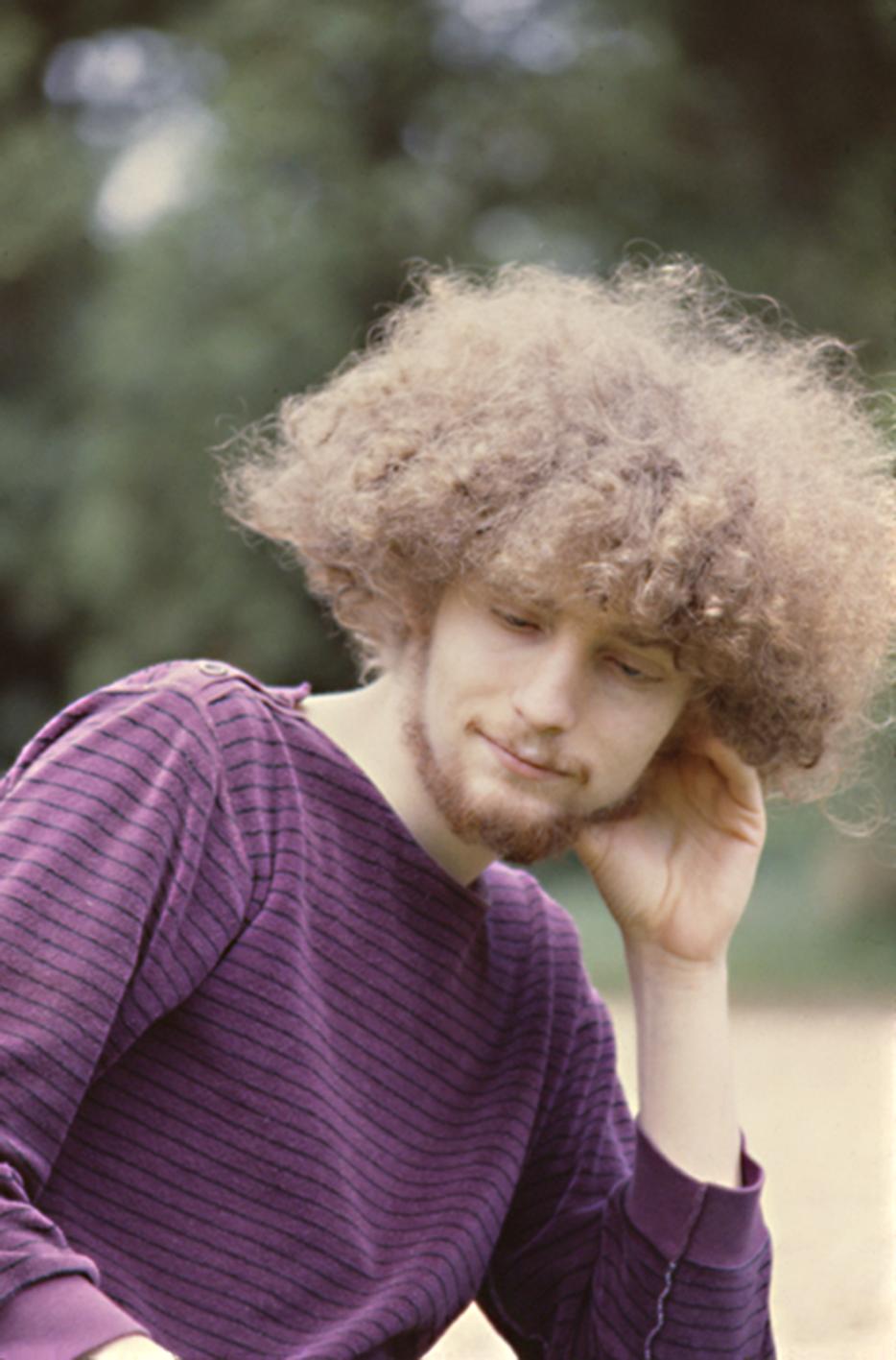 Jean-Philippe au studio Ridge Farm, 1981