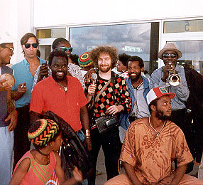Avec Xalam - Arrivée en Guadeloupe © Xalam, 1988