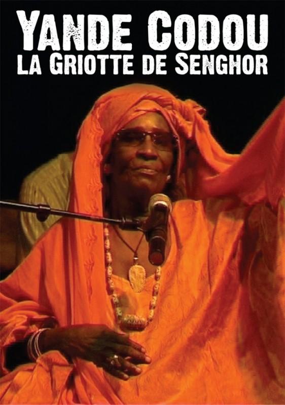 Yande Codou - La griotte de Senghor - affiche